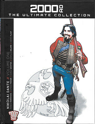 Nikolai Dante volume 1 2000AD Ultimate collection iss 8 vol 72 HB Sci Fi action