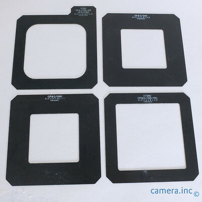 Hasselblad Pro Shade Mask Inserts For 120mm 150mm 250mm Lenses
