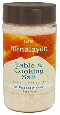 Aloha Bay Himalayan Table And Cooking Salt Fine Crystals -- 15 oz