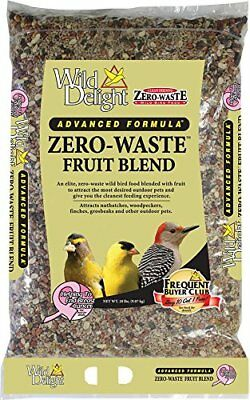 D&D COMMODITIES 360200 Wild Delight Zero-Waste Fruit Blend Bird Food 20 lb