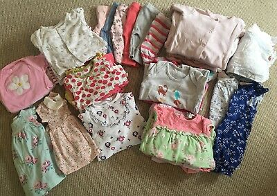 Girls Clothing Bundle - very good condition. Newborn / 1 Month (up to 10lbs)