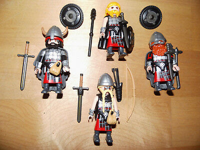 Playmobil Custom Schotten Highlander Sachsen Germanen Unikate Rar