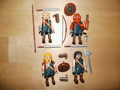 Playmobil Custom Schotten Highlander Kilt  Top Rar Unikate