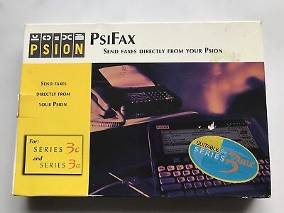 Vintage 1997: For Collectors:  EXTREMELY RARE:  PSION PSIFAX  SSD  NOT USED