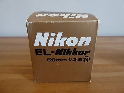 Nikkon EL-Nikkor 50mm f/2.8 N - Enlarger Lens