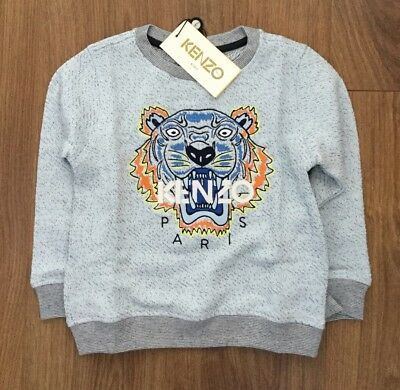 BNWT BOYS KENZO TIGER SWEATSHIRT  12 Months Genuine NEVER WORN