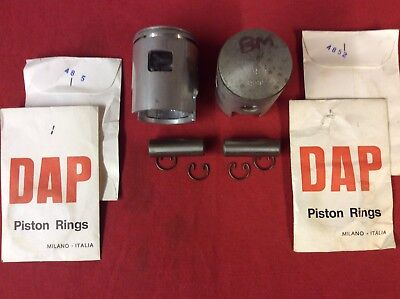 DAP Sirio Parilla BM Komet 100cc Kart Engine Piston & Rings Historic Vintage