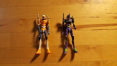 Evangelion Metal Figures , Japan , Anime. Collectible. Metacolle. Takara Tomy