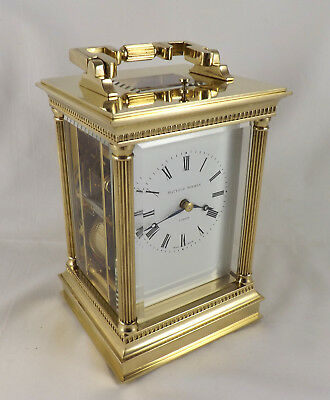 Matthew Norman 1751A Repeater Anglaise Riche Carriage Clock - Cleaned & Restored