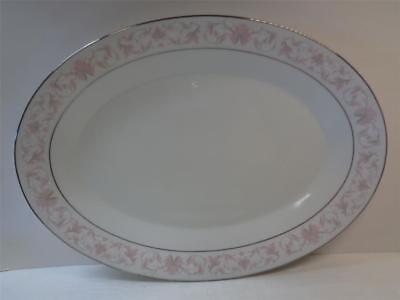 NORITAKE HARWYN 6904 fine china 14 inch Oval Serving Platter Japan