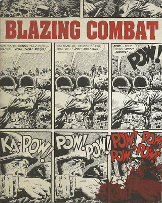 BLAZING COMBAT - COMPLETE ANTHOLOGY - ARCHIE GOODWIN, WALLY WOOD, GENE COLAN etc