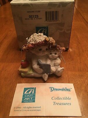 Dreamsicles Cherub Figurine In Box #DC123 Read Me A Story