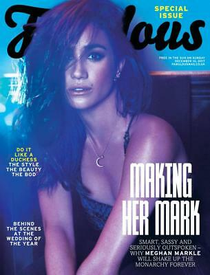 Meghan Markle Fabulous Magazine Special Issue 10/12/17 Prince Harry Engagement