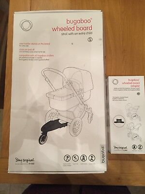 Bugaboo Wheeled Board And Adaptor, hardly used, fab condition