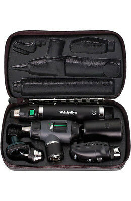 Welch Allyn Rechargeable Diagnostic Set 3.5V Macroview Otoscope Opthalmoscope