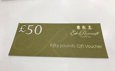 Ede & Ravenscroft £50 Voucher