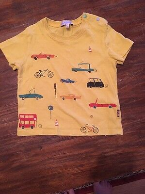 Baby Boys Age 18 Months Paul Smith T-shirt Top In Excellent Condition
