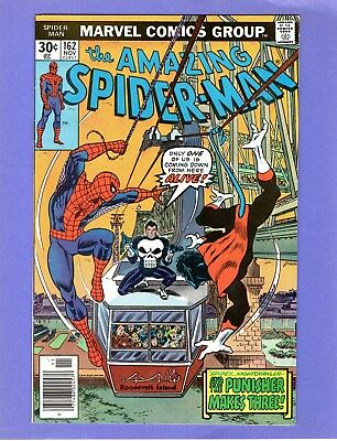 Amazing Spider-Man #162  -- Punisher, 1st Appearance Jigsaw!  -- --  NM-  cond.