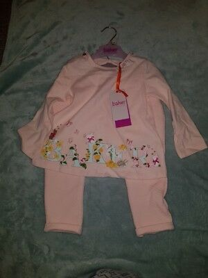BNWT Ted Baker baby girls pink 18-24 months oufit