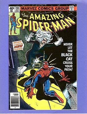 Amazing Spider-Man #194  -- 1st Appearance of the Black Cat!  -- --  NM-  cond.