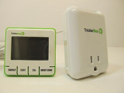 tricklestar 890EM-US-W plug in energy monitor trickle star