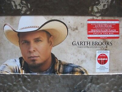 Country Music Garth Brooks The Ultimate Collection Ten CD Box Set Sealed New