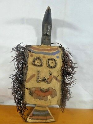 Old Tribal Tousan Mask----Africa Fes-Gb 872