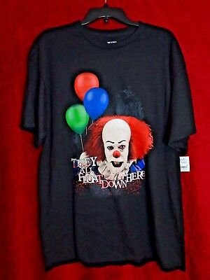 New LIMITED EDITION IT Pennywise (Tim Curry) Horror Shirt - RARE OOP XL