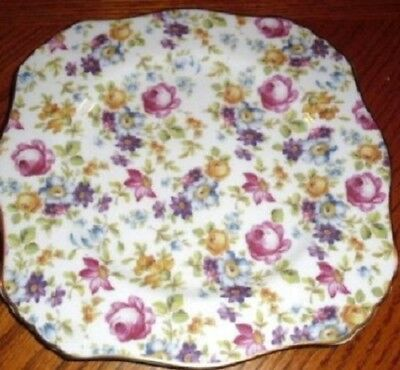 """Royal Cotswold in the English Tradition Chintz 8 1/8"""" Salad Plate"""