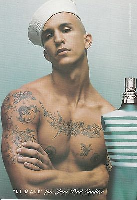 MINT 2004 Le Male cologne print ad gay sailor Great to frame!