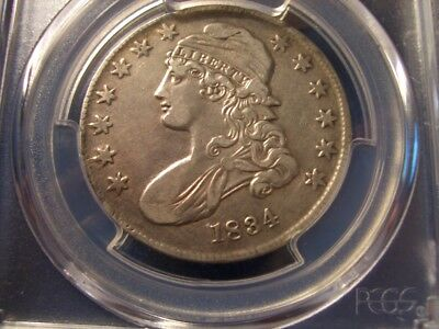 1834 BUST HALF in XF....Small Date Small Letters