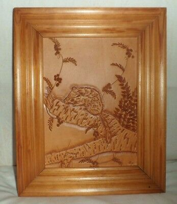 Hand Tooled Leather Art Work