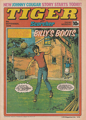 Tiger & Scorcher Comic 8Th Sept 1979 - Meadow Lane Magpies - Roscoe Tanner