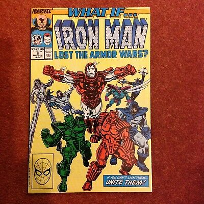 What if ? IIron Man Lost the Armour Wars No.8 (1989)