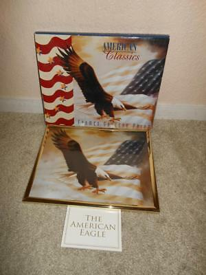 Vintage New American Classics Framed Gallery Print Of The American Eagle In Box
