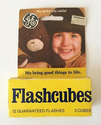 GE Flashcubes - 3 pack - New in box  Vintage