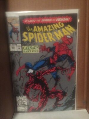 the amazimg spiderman # 361 (2nd print) (first appearance of carnage)