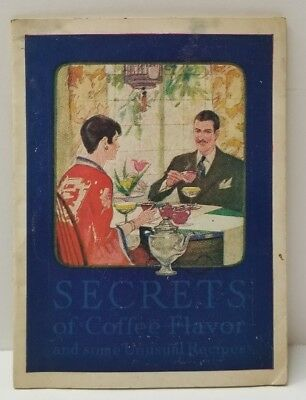 Maxwell House Cheek Neal 1927 Booklet & Recipes