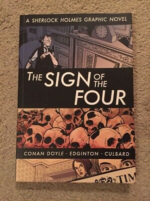 The Sign of the Four. A Sherlock Holmes Graphic Novel. Rare