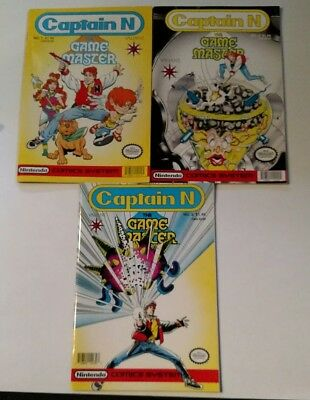 Captain N The Game Master Comics Issues 1-5