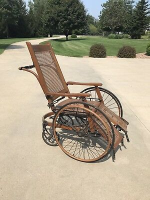 Antique Wooden Wheelchair Mayo Clinic Rochester MN