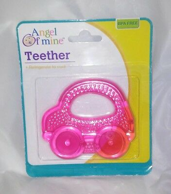 Baby of Mine Pink Car Teether NEW