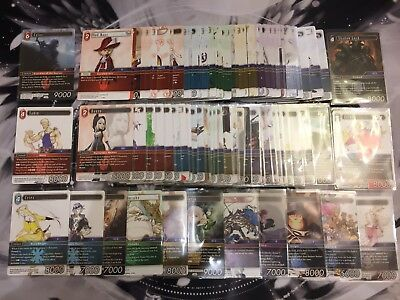 Final Fantasy Opus 4 TCG Complete Set (Sabin-Terra-Cloud Much More!)
