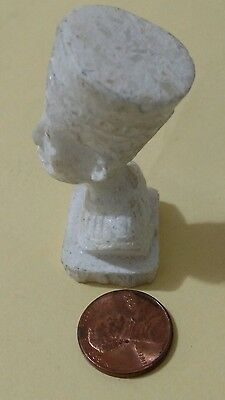 Amazing Egyptian Statue , Queen Nefertiti, Carved Marmar Stone, 30  gm,
