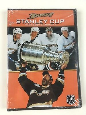 (DVD) 2007 ANAHEIM DUCKS STANLEY CUP CHAMPIONS Brand New Factory Sealed NHL