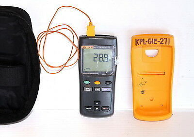 Fluke 51ii Portable Digital Contact Thermometer  +/-0.05%>100C   -200/1372C(K)