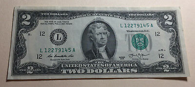 United States - 2013 Two Dollars Note