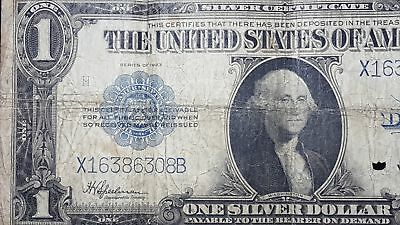 Series 1923 USA Silver Certificate VG