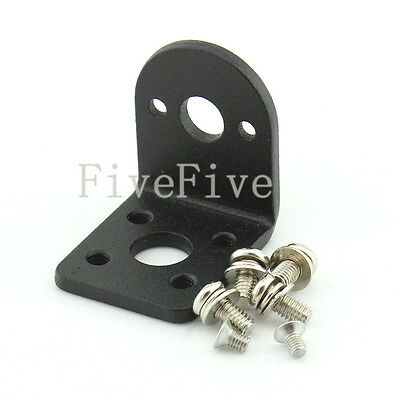 Alloy Steel Mounting Bracket with Screw For 25mm DC ZGB25 GB25 Gear Motor