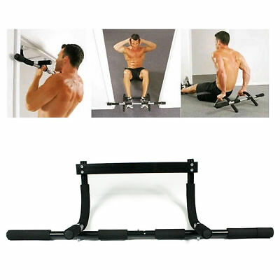 New Home Gym Doorway Portable Chin Up Bar Chinup Pullup Exercise Door Equipment